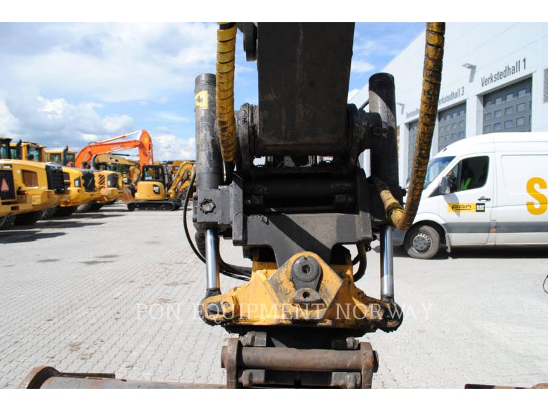 VOLVO CONSTRUCTION EQUIP BRASIL WHEEL EXCAVATORS EW 160 C equipment  photo 9