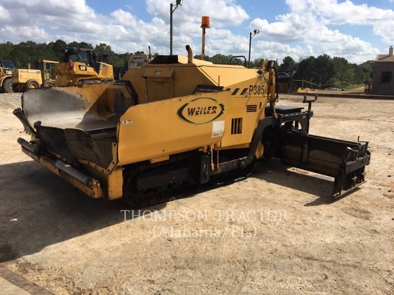 WEILER PAVIMENTADORA DE ASFALTO P 385 A equipment  photo 6