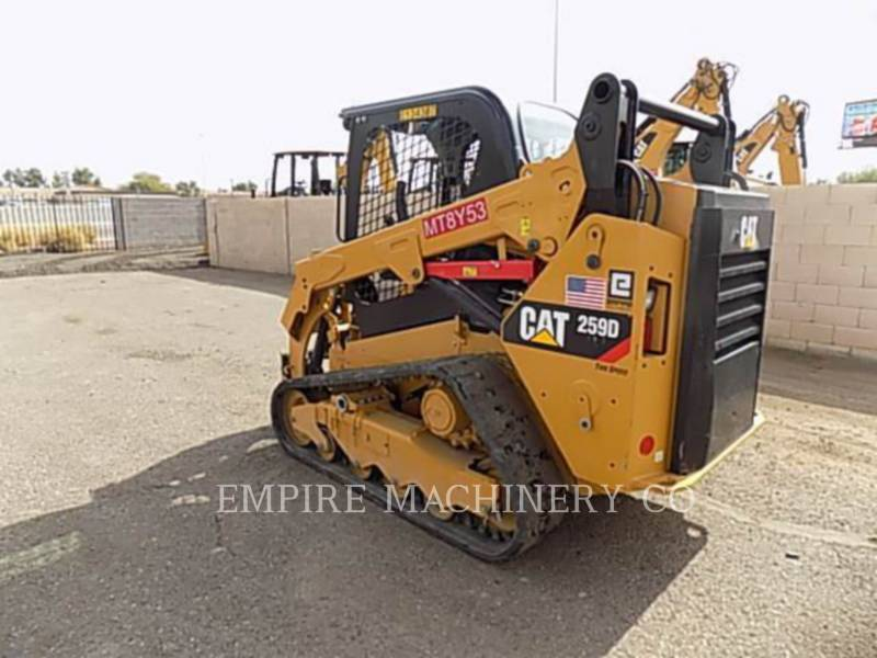 CATERPILLAR MINICARREGADEIRAS 259D equipment  photo 3