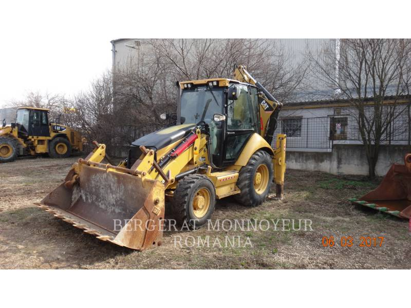 CATERPILLAR BAGGERLADER 428 E equipment  photo 1