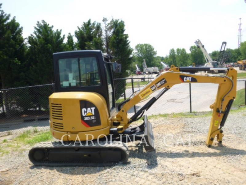 CATERPILLAR TRACK EXCAVATORS 303.5E2 CB equipment  photo 2