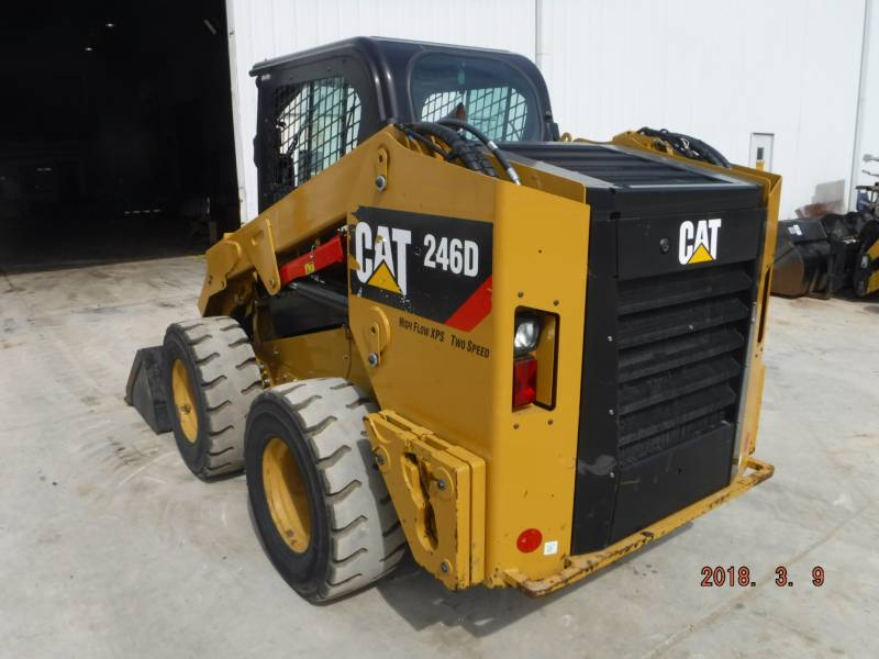 CATERPILLAR MINICARGADORAS 246D equipment  photo 3