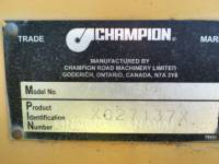 CHAMPION MOTOR GRADERS 780A equipment  photo 10