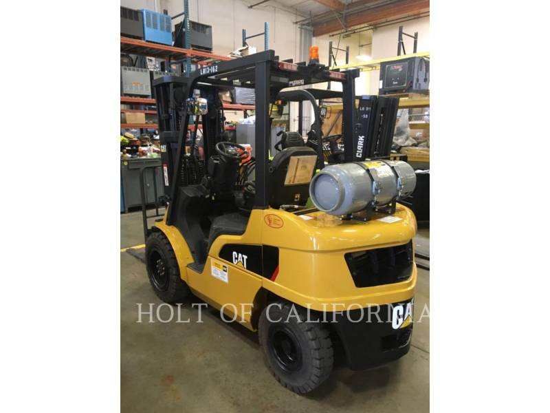 CATERPILLAR MITSUBISHI MONTACARGAS P6000-LE equipment  photo 4