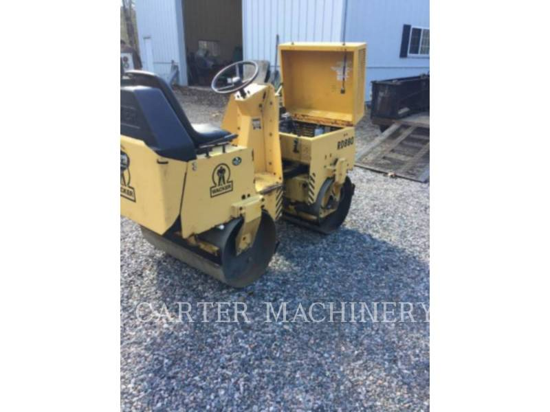 WACKER CORPORATION COMPACTADORES ROLLER equipment  photo 4