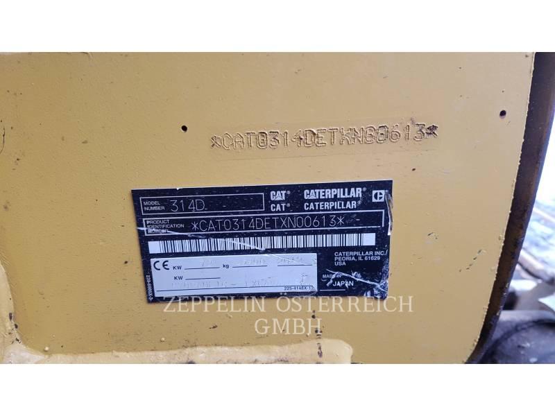 CATERPILLAR BERGBAU-HYDRAULIKBAGGER 314 DL CR equipment  photo 3
