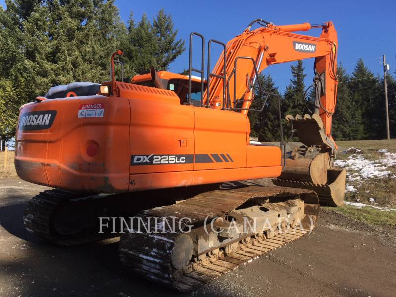 DOOSAN INFRACORE AMERICA CORP. KOPARKI GĄSIENICOWE DX225LC-3 equipment  photo 4