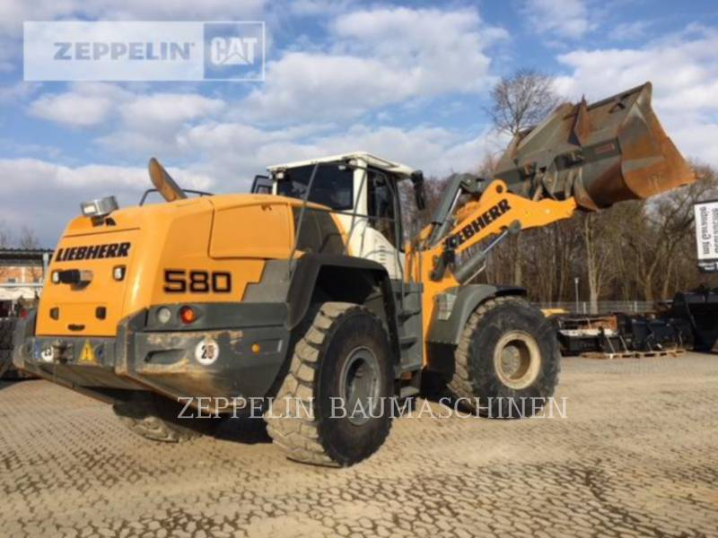 LIEBHERR WHEEL LOADERS/INTEGRATED TOOLCARRIERS L580 equipment  photo 4
