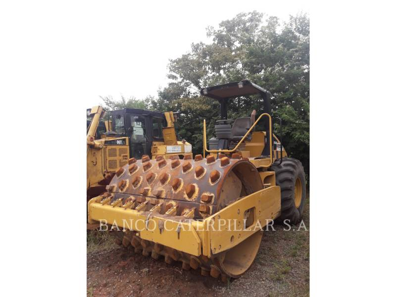 CATERPILLAR EINZELVIBRATIONSWALZE, GLATTBANDAGE CS-533E equipment  photo 1