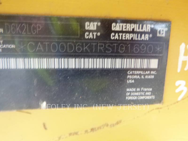 CATERPILLAR TRACK TYPE TRACTORS D6K2LGP equipment  photo 5