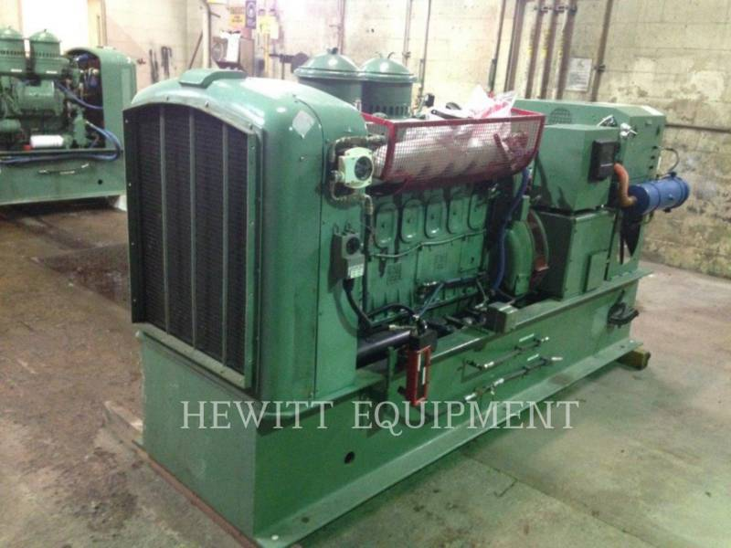 DETROIT DIESEL STATIONARY GENERATOR SETS 6-71, 100KW 120/208 VOLTS equipment  photo 2