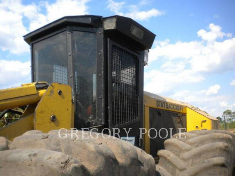 CATERPILLAR FORESTRY - FELLER BUNCHERS - WHEEL 573 equipment  photo 3