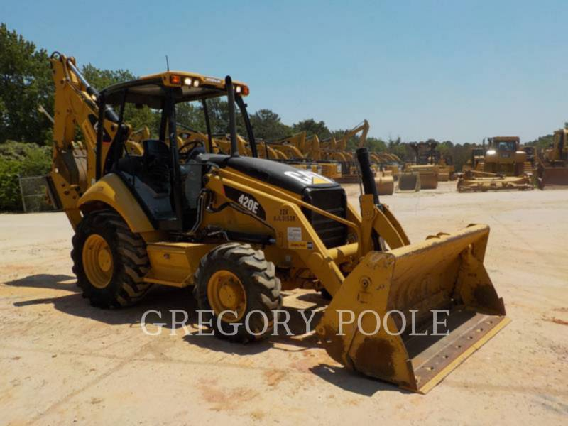 CATERPILLAR BACKHOE LOADERS 420E equipment  photo 15