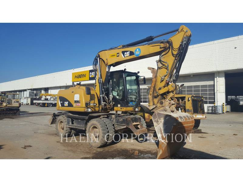 CATERPILLAR WHEEL EXCAVATORS M313D equipment  photo 1