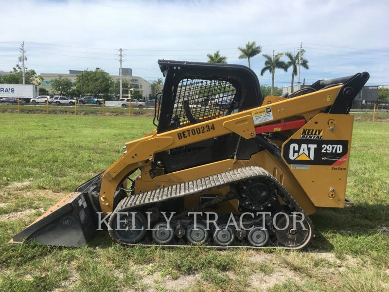 CATERPILLAR CARGADORES MULTITERRENO 297D equipment  photo 2