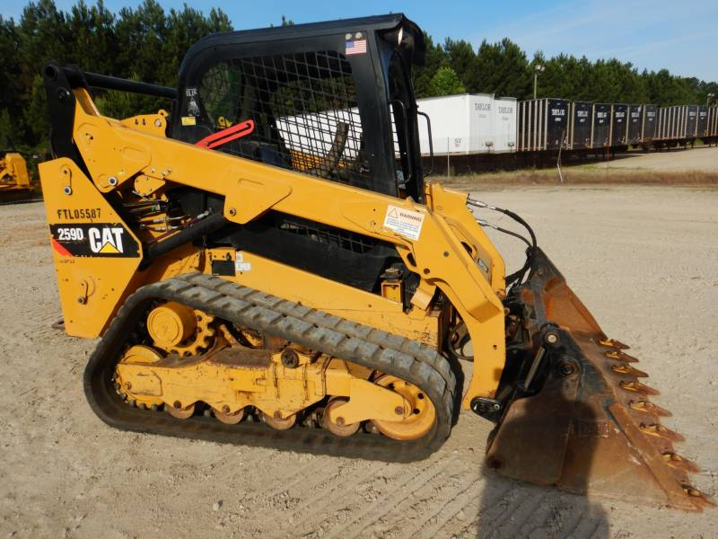 CATERPILLAR MULTI TERRAIN LOADERS 259 D equipment  photo 4