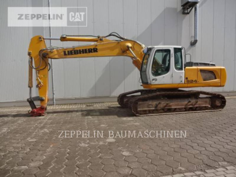 LIEBHERR PELLES SUR CHAINES R924 equipment  photo 5