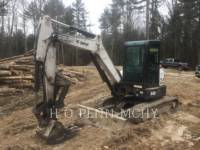 BOBCAT PELLE MINIERE EN BUTTE E45 equipment  photo 5