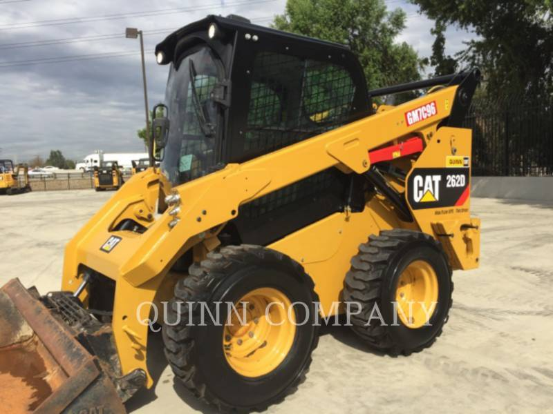 CATERPILLAR PALE COMPATTE SKID STEER 262D equipment  photo 2