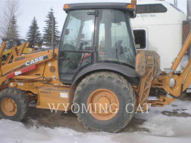 CASE/NEW HOLLAND BAGGERLADER 580M II equipment  photo 3