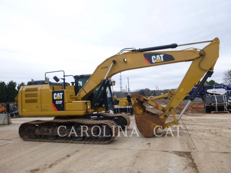 CATERPILLAR EXCAVADORAS DE CADENAS 323FL TH equipment  photo 5