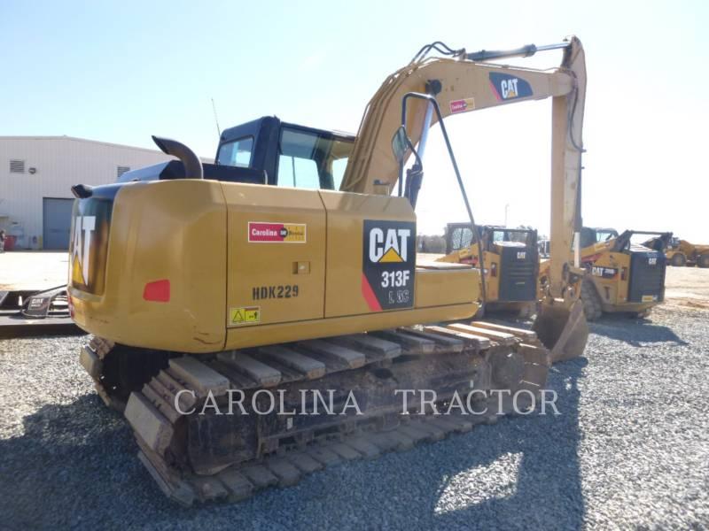CATERPILLAR TRACK EXCAVATORS 313F GC equipment  photo 3