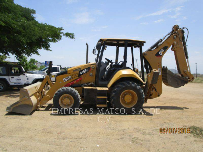 CATERPILLAR BACKHOE LOADERS 416F2STLRC equipment  photo 2