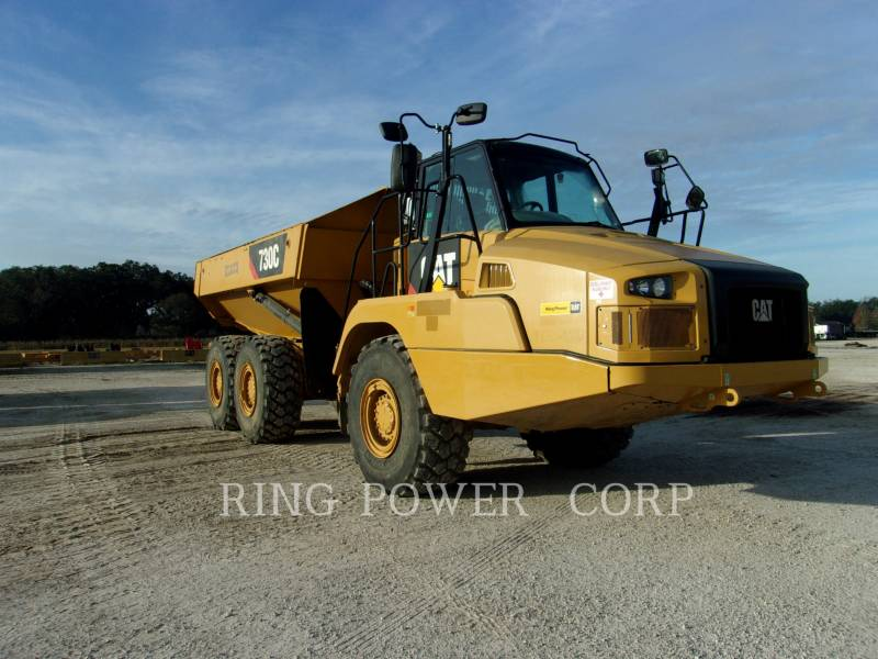CATERPILLAR ARTICULATED TRUCKS 730CTG equipment  photo 2