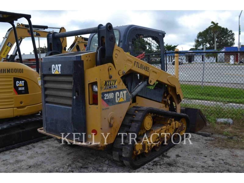 CATERPILLAR PALE CINGOLATE MULTI TERRAIN 259D equipment  photo 2
