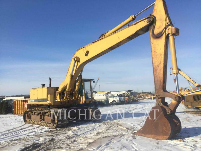 CATERPILLAR KETTEN-HYDRAULIKBAGGER 245B equipment  photo 1