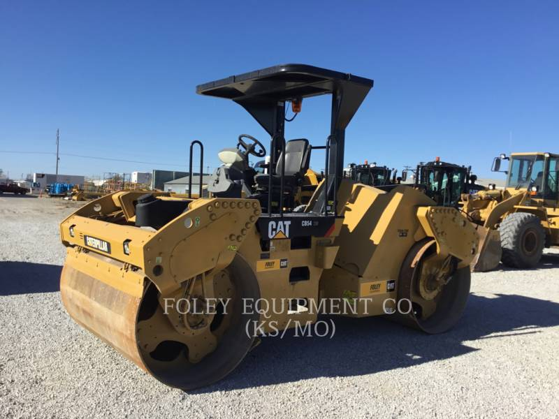 CATERPILLAR TAMBOR DOBLE VIBRATORIO ASFALTO CB54XW equipment  photo 1