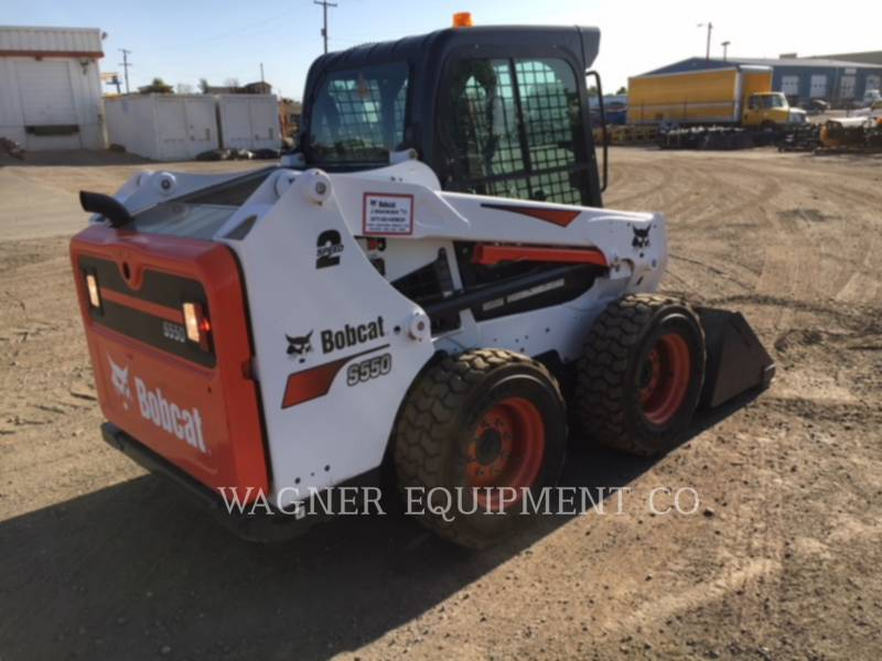 BOBCAT KOMPAKTLADER S550 equipment  photo 4