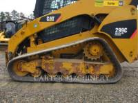CATERPILLAR SKID STEER LOADERS 299C ACHF equipment  photo 5