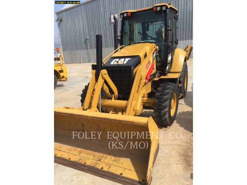 CATERPILLAR BACKHOE LOADERS 416F2 equipment  photo 1