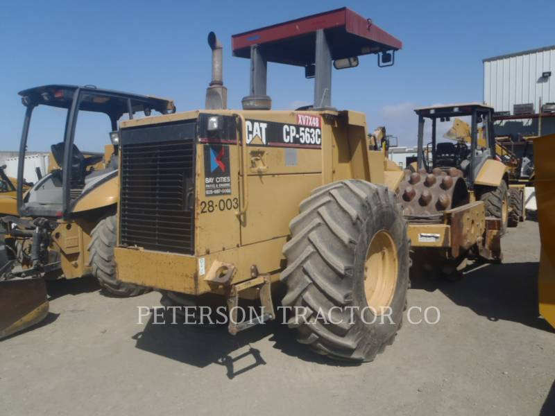 CATERPILLAR ASPHALT PAVERS CP-563C equipment  photo 3