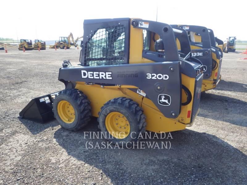 JOHN DEERE SKID STEER LOADERS 320D equipment  photo 1