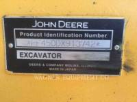 DEERE & CO. RUPSGRAAFMACHINES 450DLC equipment  photo 6