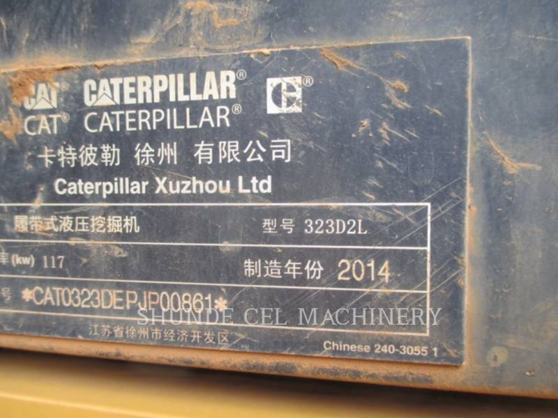 CATERPILLAR KETTEN-HYDRAULIKBAGGER 323D2L equipment  photo 2