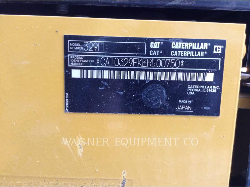 CATERPILLAR ESCAVATORI CINGOLATI 329FL equipment  photo 5