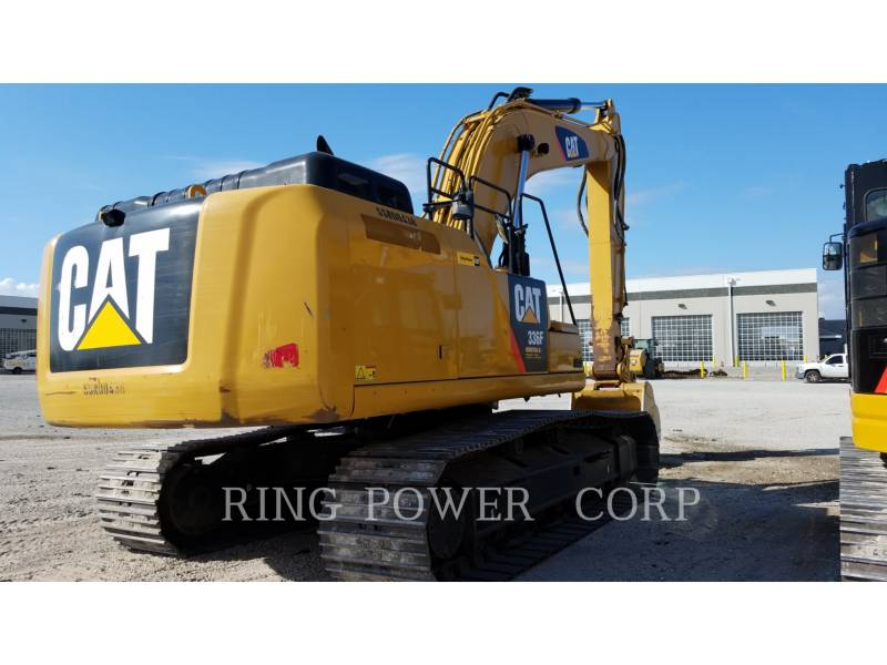 CATERPILLAR EXCAVADORAS DE CADENAS 336FLHAMER equipment  photo 4