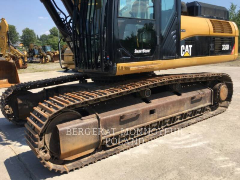 CATERPILLAR KETTEN-HYDRAULIKBAGGER 336DL equipment  photo 17