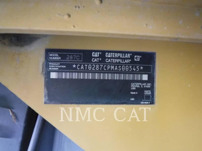 CATERPILLAR PALE CINGOLATE MULTI TERRAIN 287C equipment  photo 6
