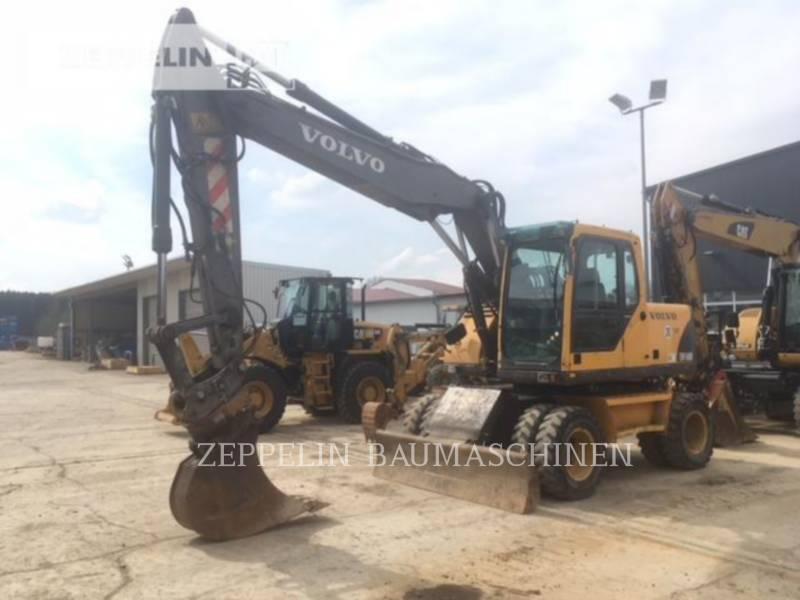 VOLVO CONSTRUCTION EQUIPMENT EXCAVADORAS DE RUEDAS EW160B equipment  photo 1