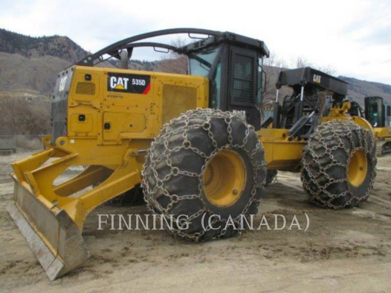 CATERPILLAR FORESTRY - SKIDDER 535DLRC equipment  photo 1