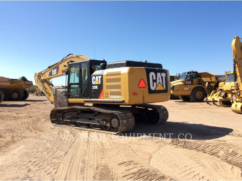 CATERPILLAR PELLES SUR CHAINES 329EL TC equipment  photo 2