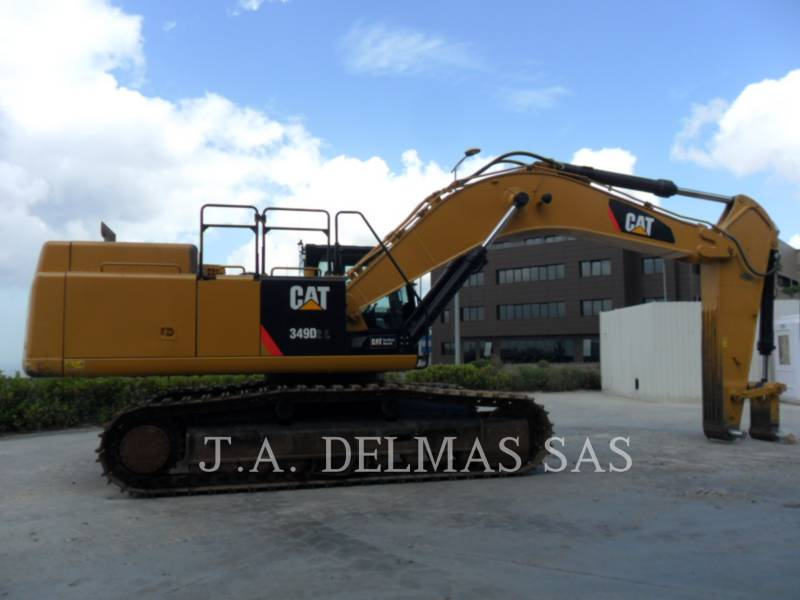 CATERPILLAR TRACK EXCAVATORS 349D2L equipment  photo 1