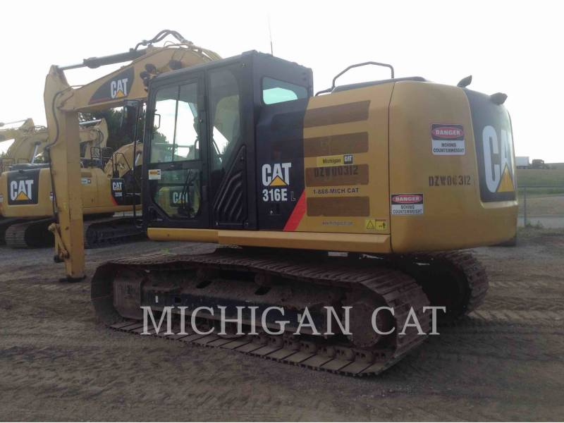 CATERPILLAR PELLES SUR CHAINES 316EL  equipment  photo 4