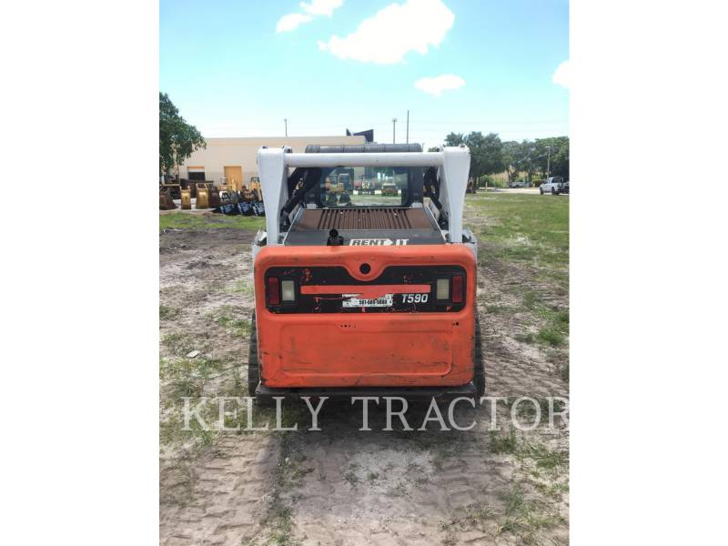 BOBCAT MULTI TERRAIN LOADERS T-590 equipment  photo 5