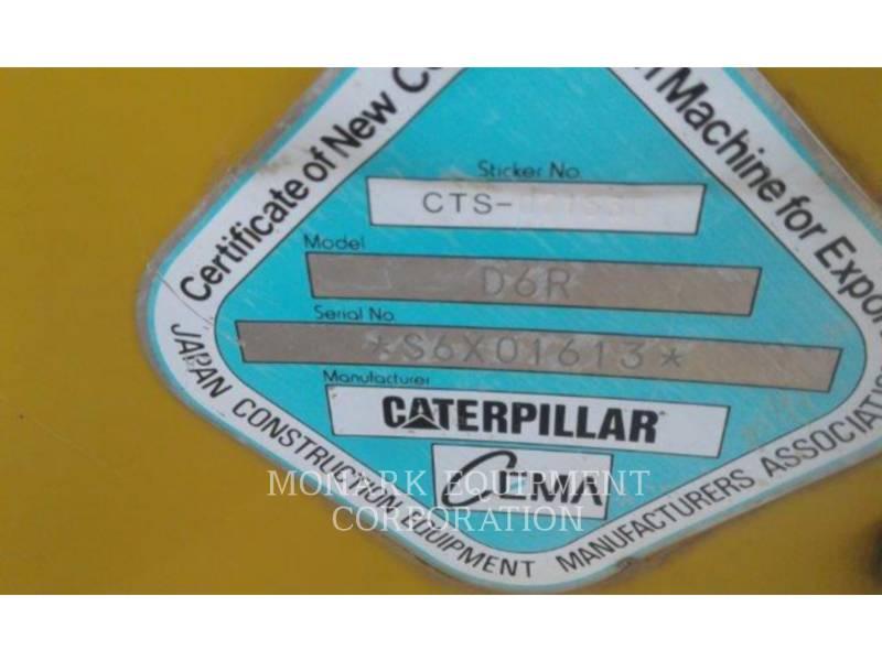 CATERPILLAR TRATTORI CINGOLATI D6R equipment  photo 5