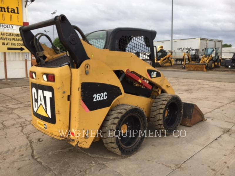 CATERPILLAR CHARGEURS COMPACTS RIGIDES 262C equipment  photo 3